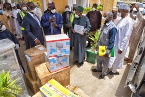 COVID-19 : Oil & Gas Intervention: Kano Receives Package