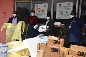 WAPco IMAGE,COVID-19: WAPCo donates PPEs, medical supplies worth N15m to Lagos Govt
